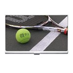 Tennis ^ Business Card Holder