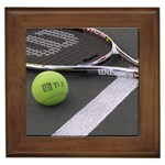 Tennis ^ Framed Tile