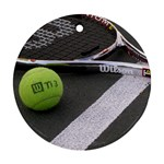Tennis ^ Ornament (Round)