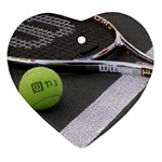 Tennis ^ Ornament (Heart)