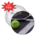 Tennis ^ 2.25  Button (10 pack)