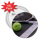 Tennis ^ 2.25  Button (100 pack)