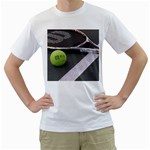Tennis ^ White T-Shirt