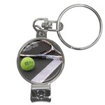 Tennis ^ Nail Clippers Key Chain