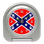 Confederate Rebel Flag ^ Travel Alarm Clock