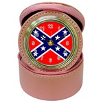 Confederate Rebel Flag ^ Jewelry Case Clock
