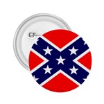 Confederate Rebel Flag ^ 2.25  Button