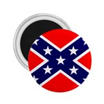 Confederate Rebel Flag ^ 2.25  Magnet