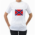 Confederate Rebel Flag ^ Women s T-Shirt