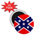 Confederate Rebel Flag ^ 1.75  Magnet (10 pack)