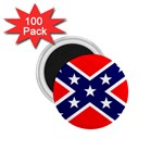 Confederate Rebel Flag ^ 1.75  Magnet (100 pack)
