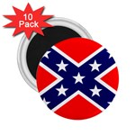 Confederate Rebel Flag ^ 2.25  Magnet (10 pack)