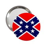 Confederate Rebel Flag ^ 2.25  Handbag Mirror