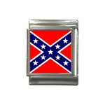 Confederate Rebel Flag ^ Italian Charm (13mm)