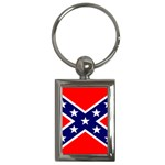 Confederate Rebel Flag ^ Key Chain (Rectangle)
