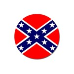 Confederate Rebel Flag ^ Magnet 3  (Round)