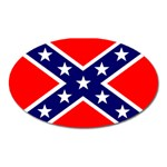 Confederate Rebel Flag ^ Magnet (Oval)