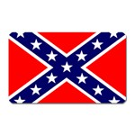 Confederate Rebel Flag ^ Magnet (Rectangular)