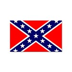 Confederate Rebel Flag ^ Sticker Rectangular (10 pack)