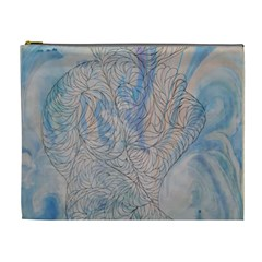 Convoluted Patterns Cosmetic Bag (xl)
