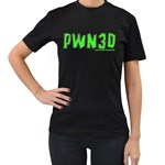 PWN3D Women s Black T-Shirt