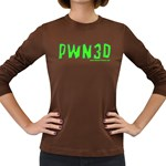 PWN3D Women s Long Sleeve Dark T-Shirt