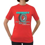 Reboot Duct Tape Women s Dark T-Shirt