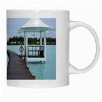 Island Entrance White Mug from SnappyGiftsUSA Right