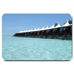 Water Bungalows Large Doormat from SnappyGiftsUSA 30 x20 Door Mat - 1