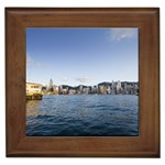 HK harbour Framed Tile