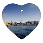 HK harbour Ornament (Heart)