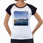 HK harbour Women s Cap Sleeve T