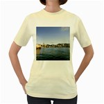 HK harbour Women s Yellow T-Shirt
