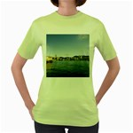 HK harbour Women s Green T-Shirt