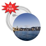 HK harbour 2.25  Button (10 pack)