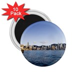 HK harbour 2.25  Magnet (10 pack)