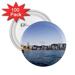 HK harbour 2.25  Button (100 pack)