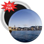 HK harbour 3  Magnet (100 pack)