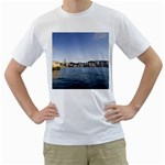 HK harbour White T-Shirt