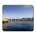 HK harbour Large Mousepad