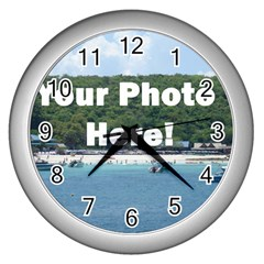 Make Your Own Wall Clock (Silver) from SnappyGifts.co.uk Front