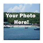 Your Photo Here copy Tile Coaster