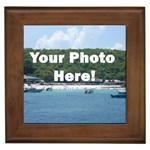 Your Photo Here copy Framed Tile