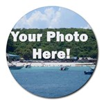 Your Photo Here copy Round Mousepad