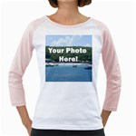 Your Photo Here copy Girly Raglan