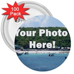 Your Photo Here copy 3  Button (100 pack)
