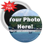 Your Photo Here copy 3  Magnet (100 pack)