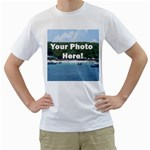Your Photo Here copy White T-Shirt