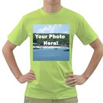 Your Photo Here copy Green T-Shirt