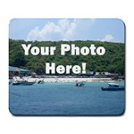 Your Photo Here copy Large Mousepad